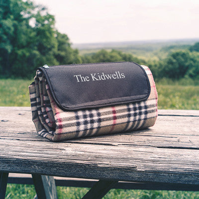 Personalized Tailgate Picnic Blanket