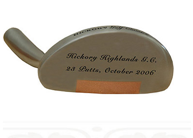 Personalized Mallet Putter