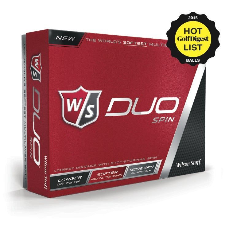 Personalized Wilson Golf Balls - Duo Spin 12-ball Pack