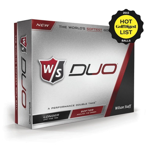 Personalized Wilson Golf Balls - Wilson Duo 12-Ball Pack