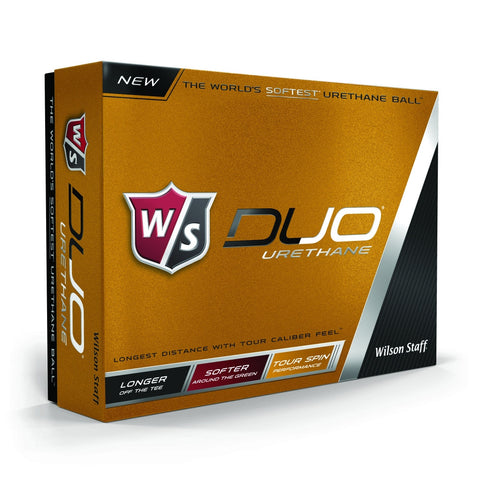 Personalized Wilson Golf Balls - Duo Urethane 12-Ball Pack