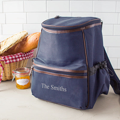 Personalized Insulated Backpack Cooler