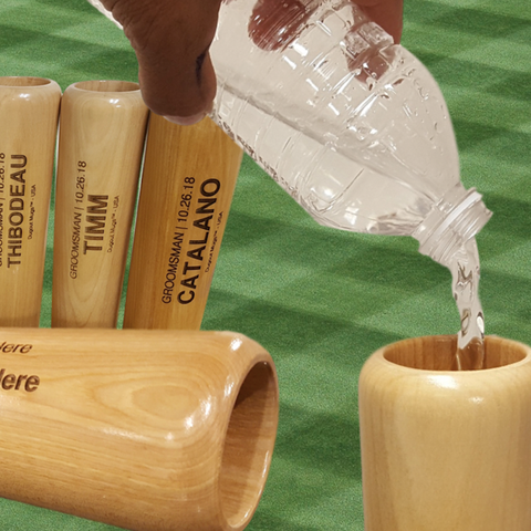 Personalized Baseball Bat Mug