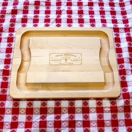 Etched Cutting Board