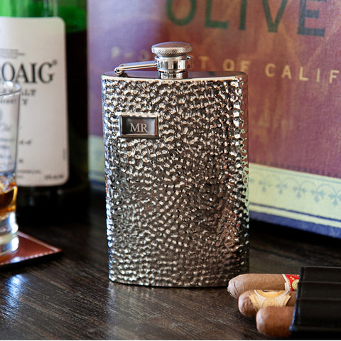 Personalized Die-Struck Flask