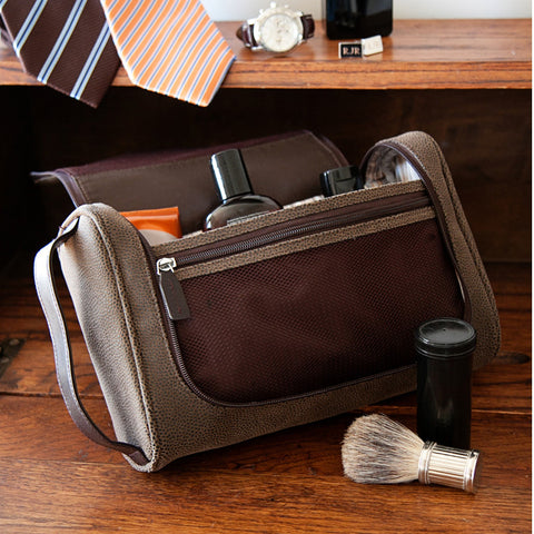 The Meridian Toiletry Bag with 5-piece Manicure Set