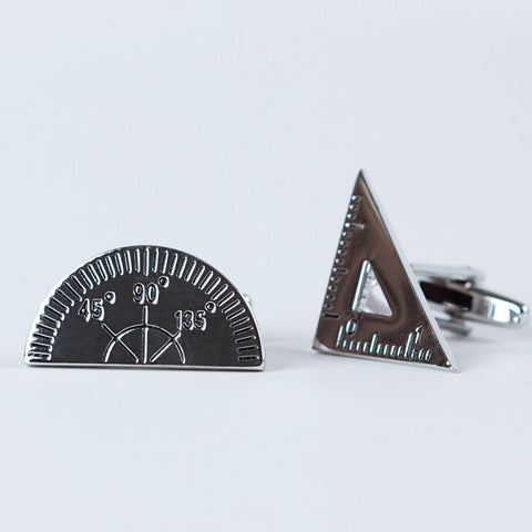 Rhodium Plated Tools of the Trade Cufflinks