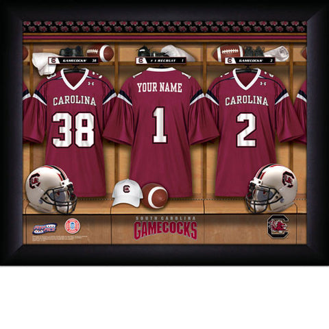 Personalized College Football Locker Room Signs - South Carolina