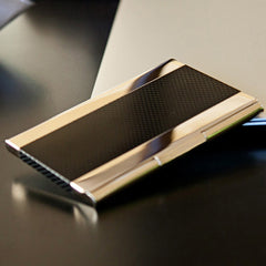 Anodized Business Card Holder
