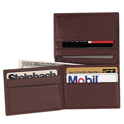 Personalized Nappa  Leather Flip Credit Card Wallet
