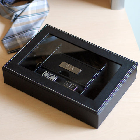 Groomsmen's Engraved Valet Box