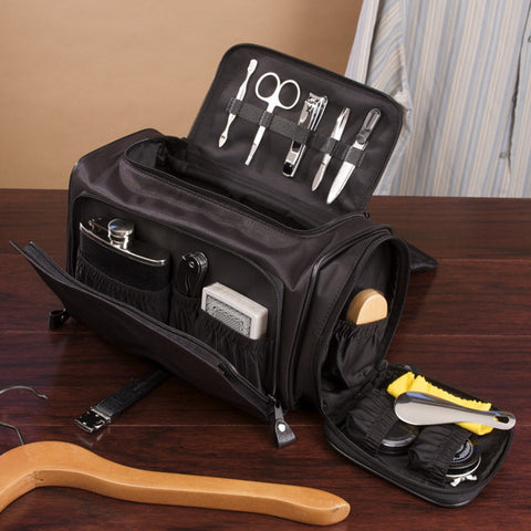 The Ultimate Toiletry, Game and Bar Bag - Black