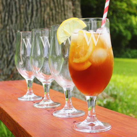 Personalized Stemmed Goblets (Set of 4)