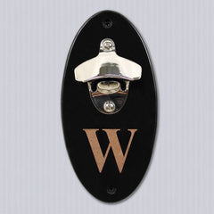 Groomsmen's Personalized Wall Mounted Bottle Opener