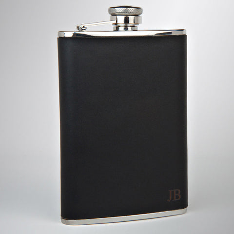 The Knight Leather Flask