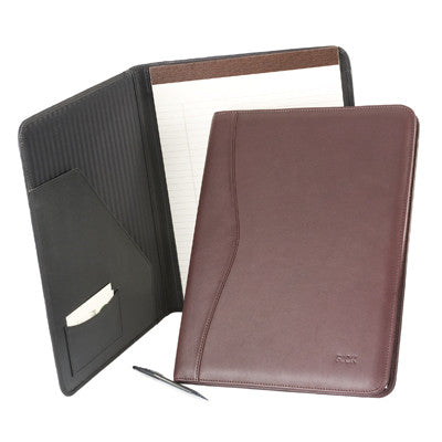 Personalized Leather Writing Padfolio