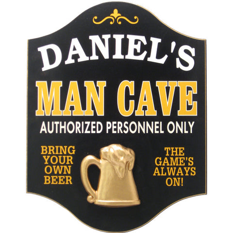 Handcrafted Man Cave Sign