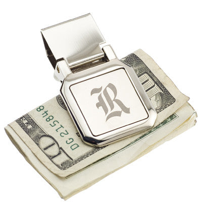 Engraved Olde English Money Clip