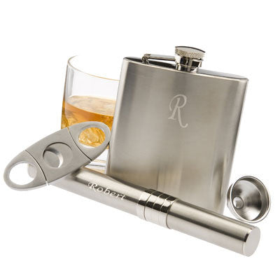 Four-piece Cigar & Bar Set