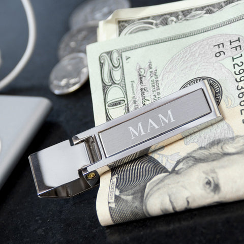 Personalized Stainless Money Clip
