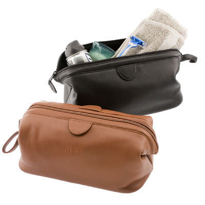 Personalized Nappa  Deluxe Toiletry Bag