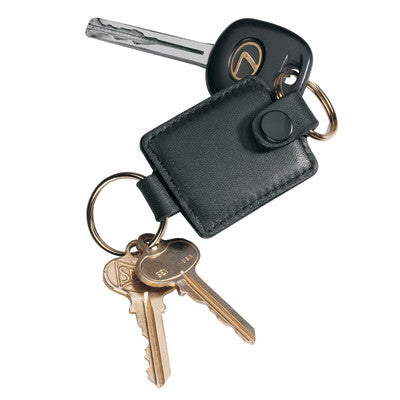 Personalized Nappa  Leather Valet Key FOB