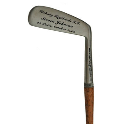 Personalized Blade Putter