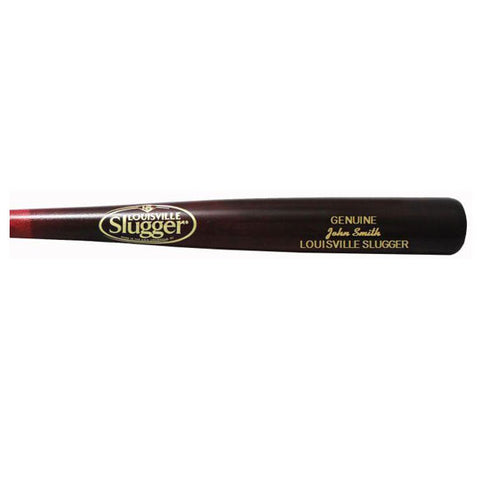 Personalized Louisville Slugger Walker Finish Baseball Bat