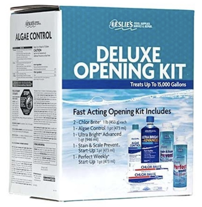 Leslie's Deluxe Opening Kit for up to 15000 Gallons
