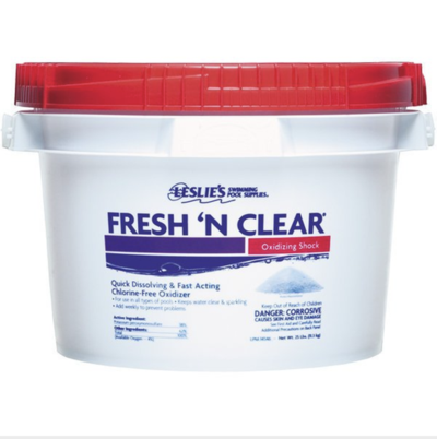 Leslie's Fresh N Clear Non-chlorinated Shock 25 lbs
