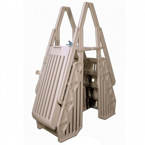 Leslie's - Neptune A-Frame Entry System for Above Ground Pools, Taupe