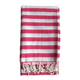 Hot Pink turkish towel