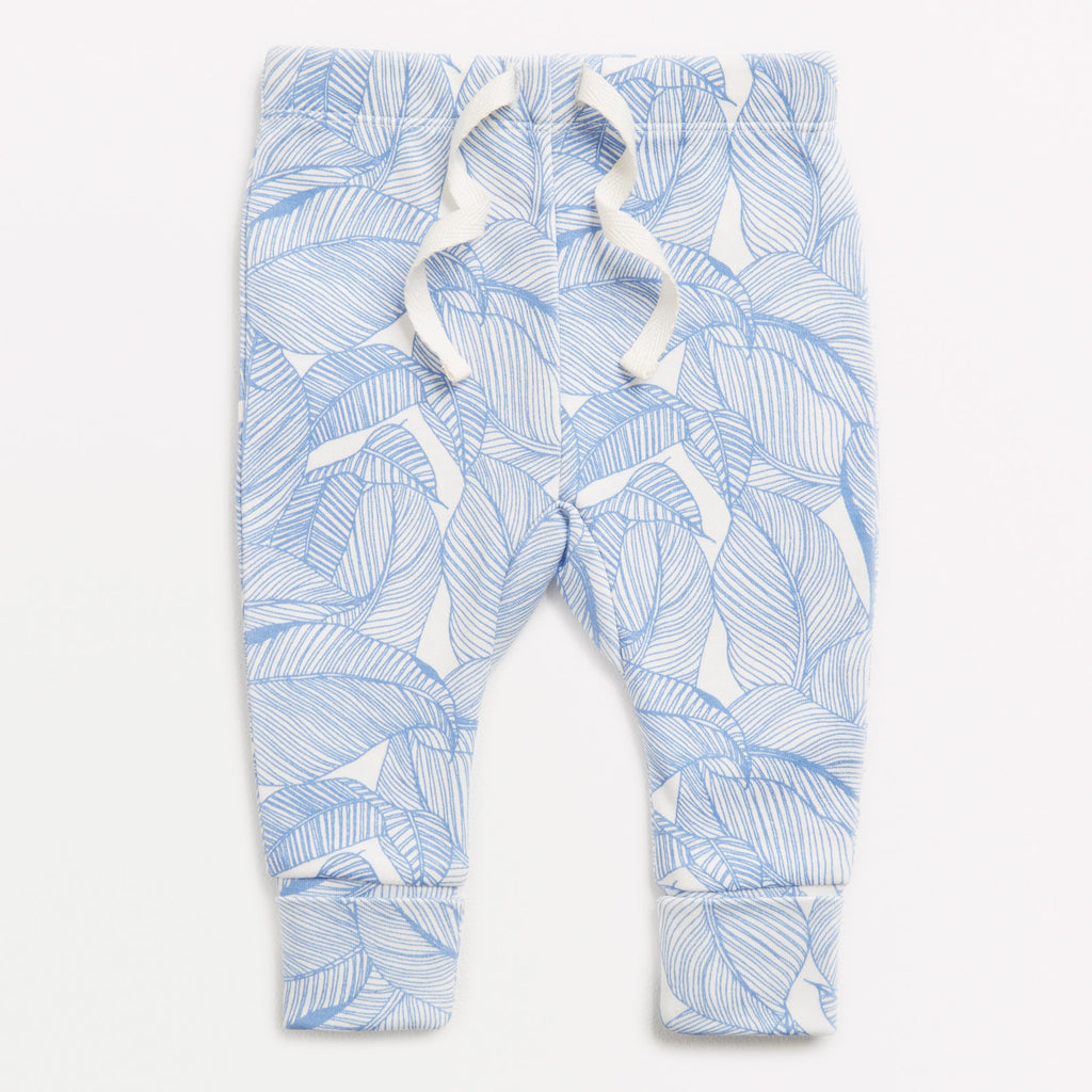 Baby legging Into the Jungle Blue
