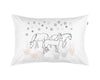Dreaming of Horses and Stars hand printed pillowcase