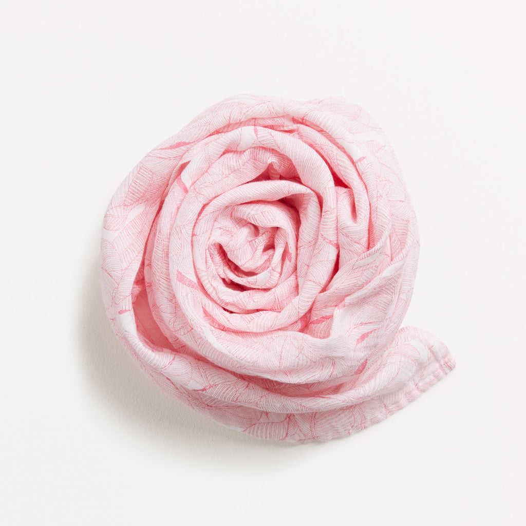 Muslin baby wrap pink Wilson & Frenchy