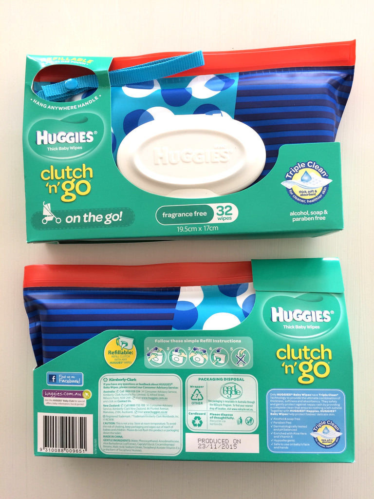 Huggies clutch n go baby wipes wallet