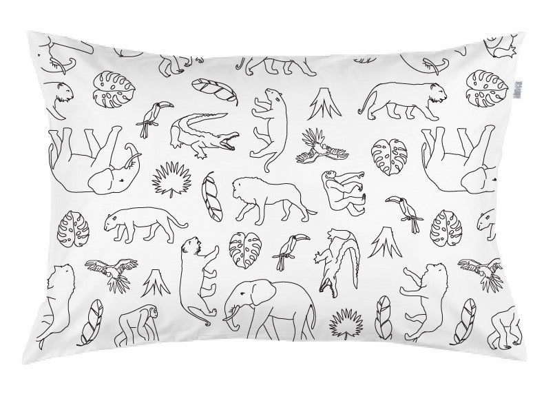Jungle Pillowcase Burrow & Be