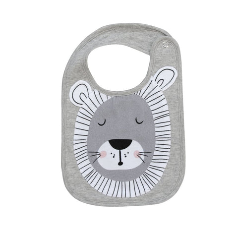Misterfly Animal Bib - Lion