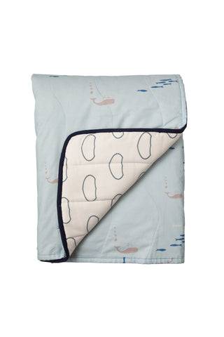 Whale of a Time Cot Quilt / Play mat