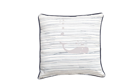 Whale of a Time Cushion Cover - Square