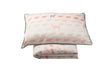Children's Organic Cotton Duvet Cover Set Oh Deer Pink Single King Single