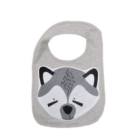 Mistefly Animal Bib - Racoon