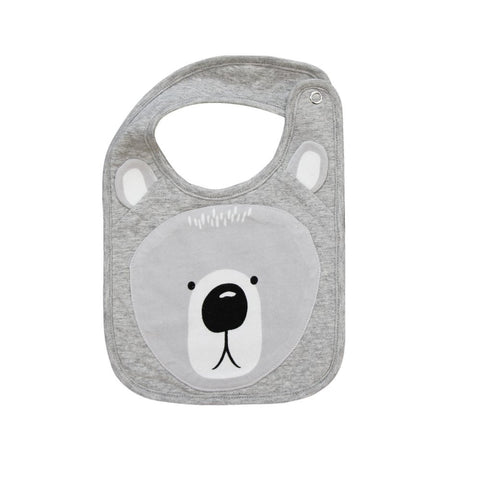 Misterfly Animal Bib - Bear