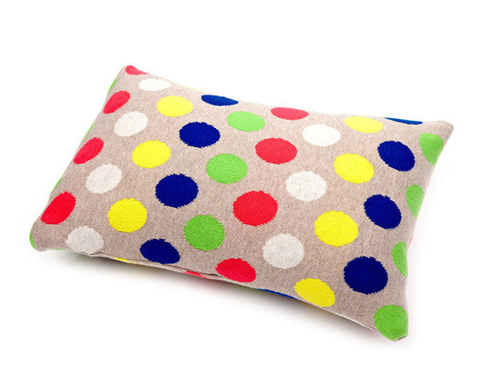 Children's Organic Cotton Cushion for baby gift - Uimi Dotty