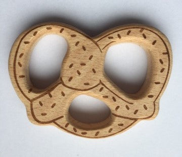 Pretzel Natural Wood Teether