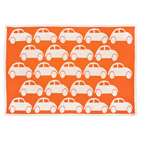Traffic Jam Blanket - Tangerine