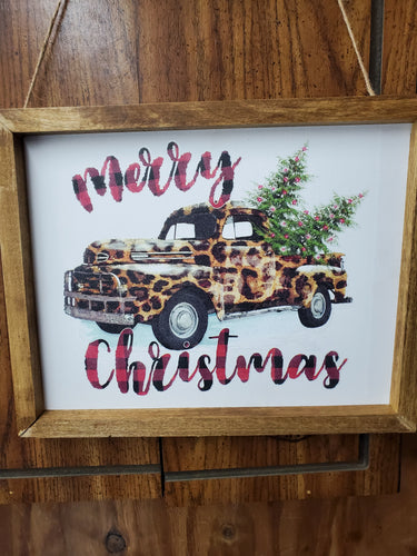 Merry Christmas canvas, wall hanging, custom canvas