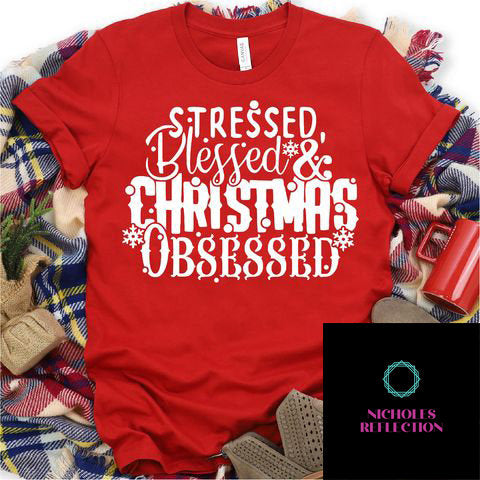 Christmas tshirt; Christmas tee; custom t-shirt;