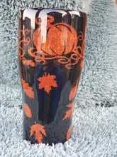 Load image into Gallery viewer, fall tumbler, fall stainless steel cup, custom tumbler
