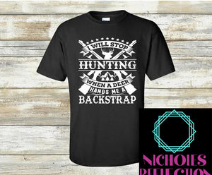 Mens t-shirt, mens hunting tee, custom shirt
